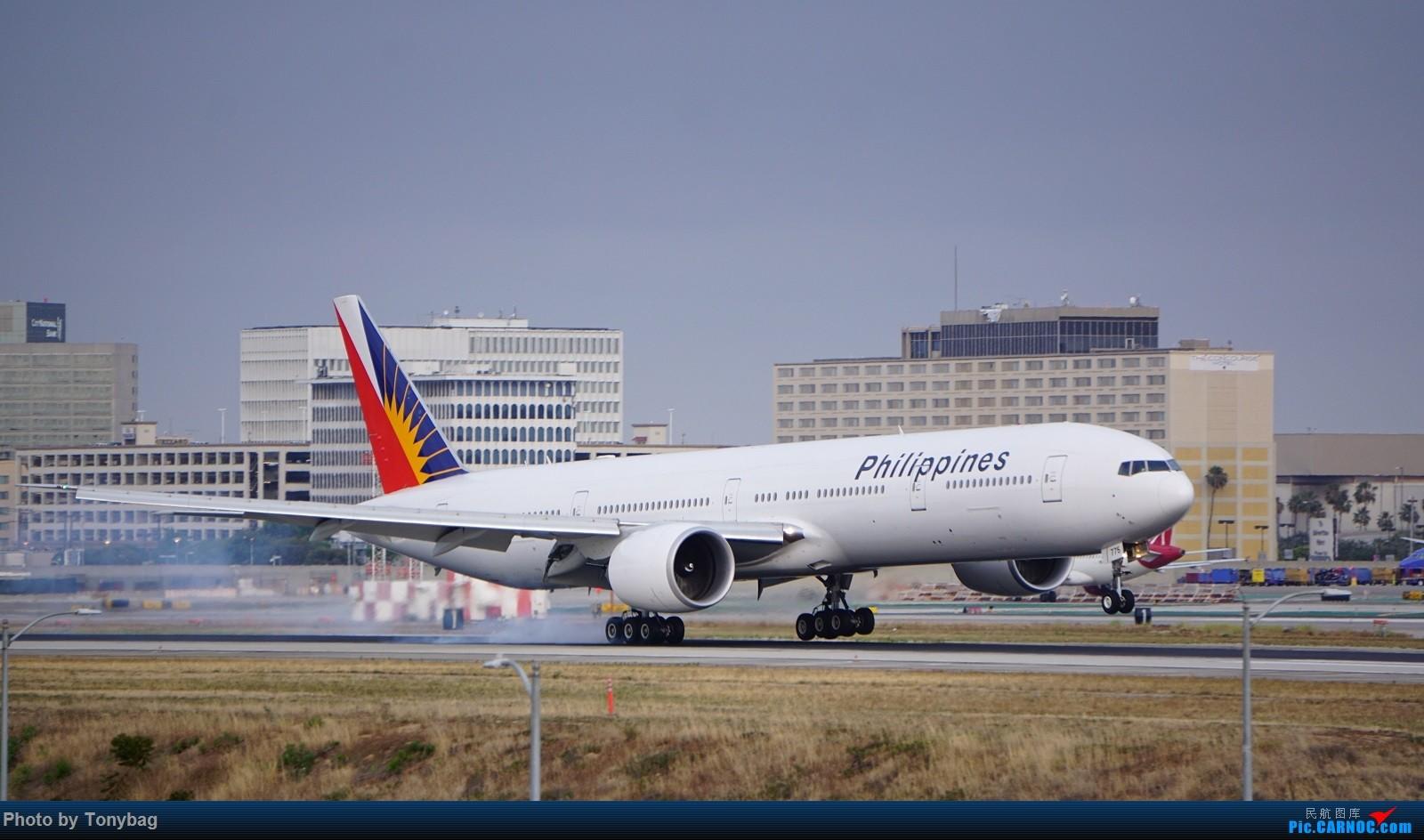 Re:[原创]家住LAX附近就是方便,天天拍飞机 BOEING 777-300ER RP-C7775