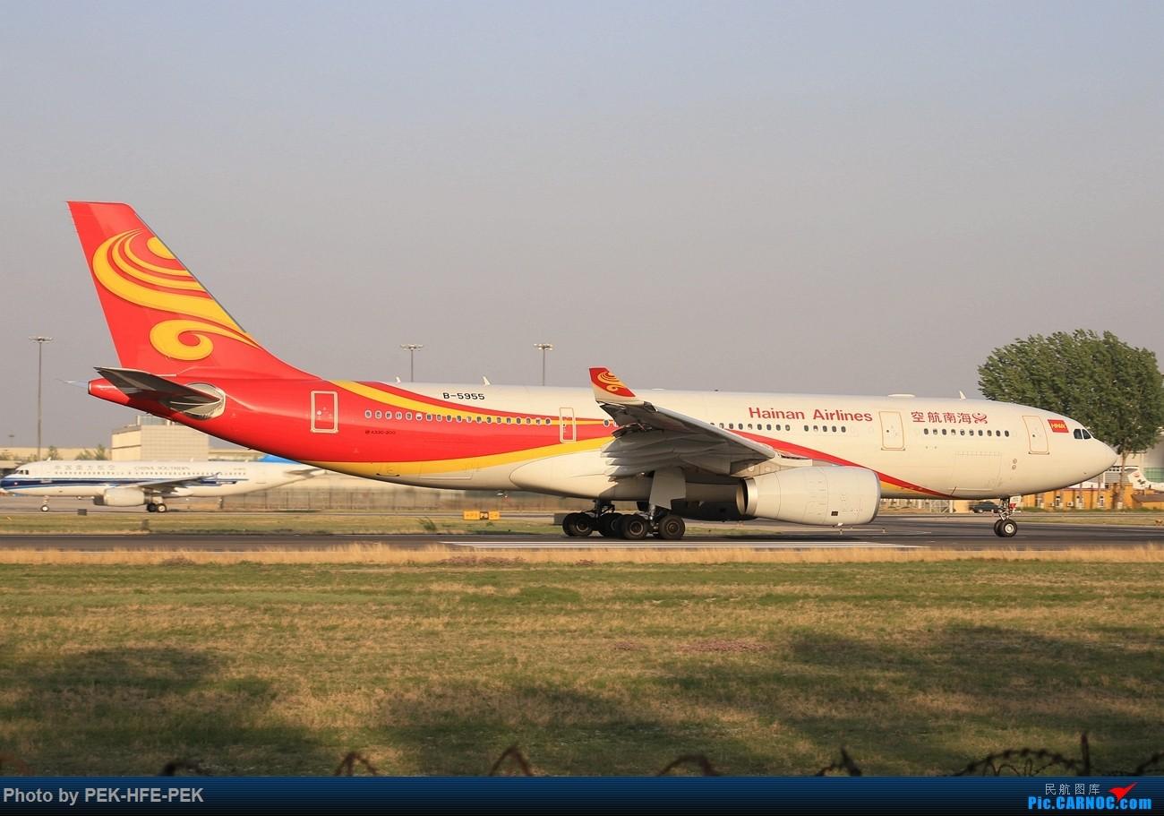 Re:[原创][AutumnKwok]西跑18R向南运行~埃塞788,东航77W,五粮液等 AIRBUS A330-200 B-5955 pek