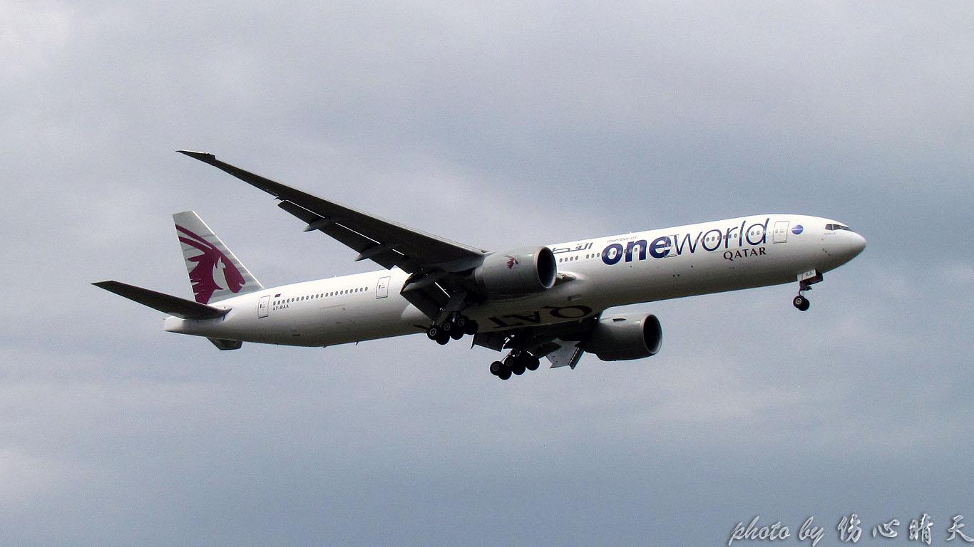 Re:[原创]PVG联盟彩绘的一天!地主、越南、AA、QF、大韩……就差星空了! BOEING 777-300ER A7-BAA 中国上海浦东国际机场