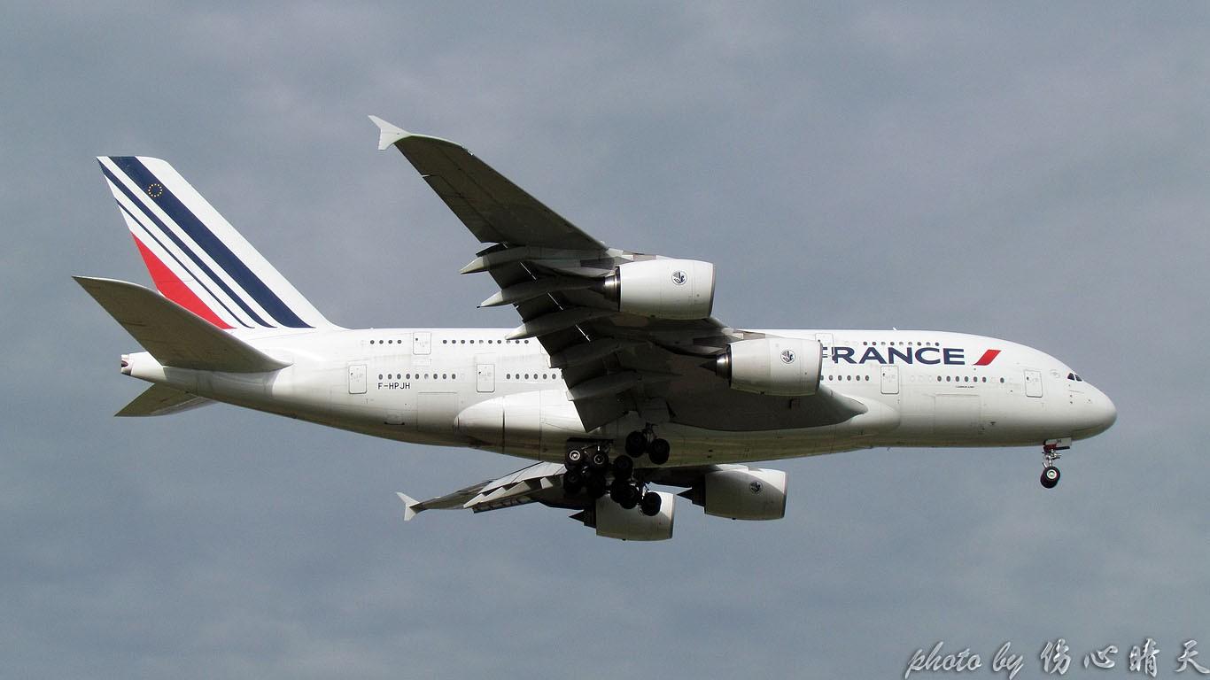 Re:[原创]PVG联盟彩绘的一天!地主、越南、AA、QF、大韩……就差星空了! AIRBUS A380-800 F-HPJH 中国上海浦东国际机场