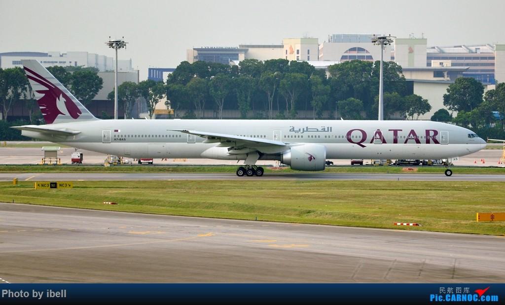 Re:以777全系列来庆祝升级777 - 今晚是777的盛宴!喜欢777的小伙伴们一定要进来围观 BOEING 777-300(ER) A7-BAS 新加坡樟宜机场