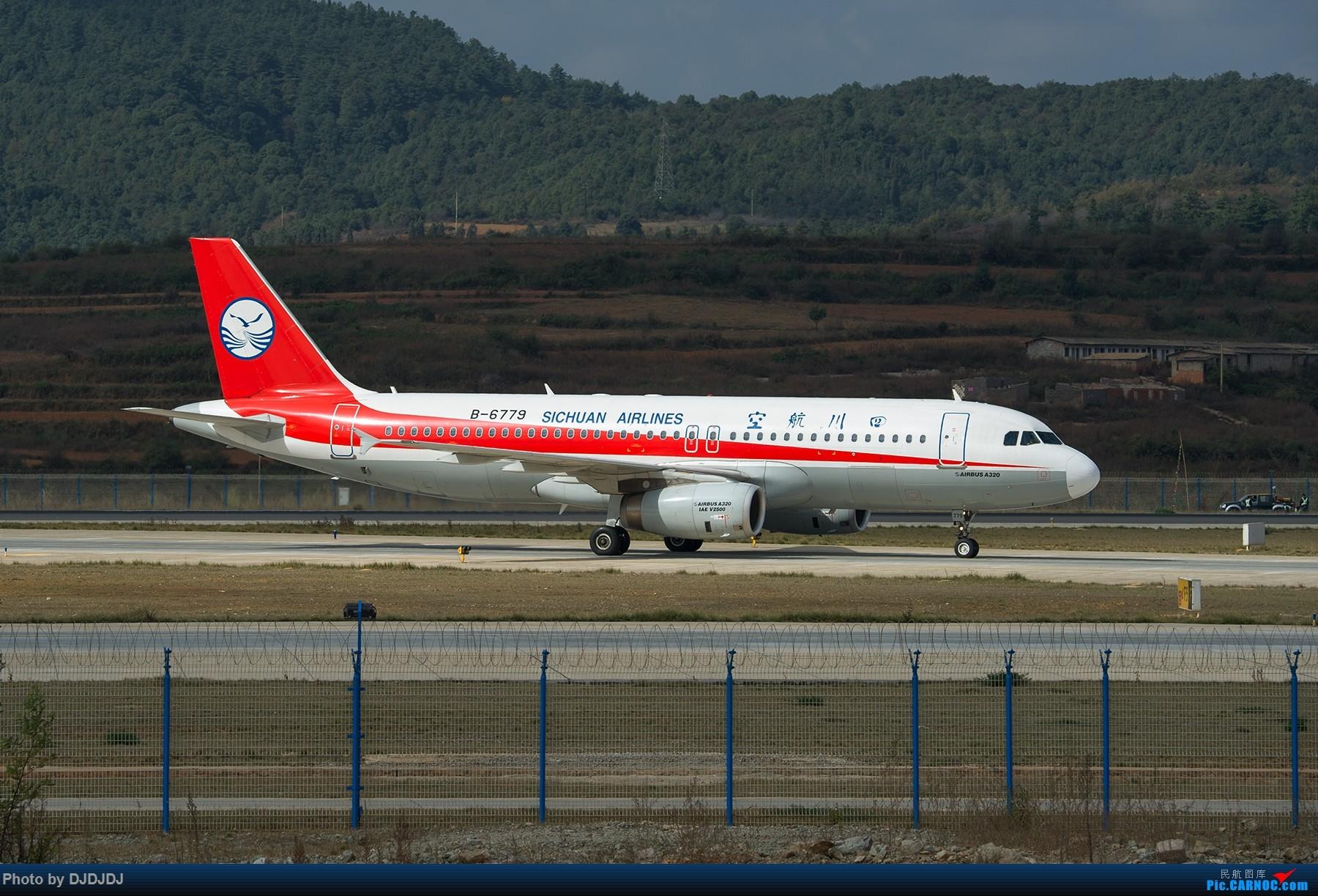 [原创]【BLDDQ】6779 AIRBUS A320-200 B-6779 中国昆明长水国际机场