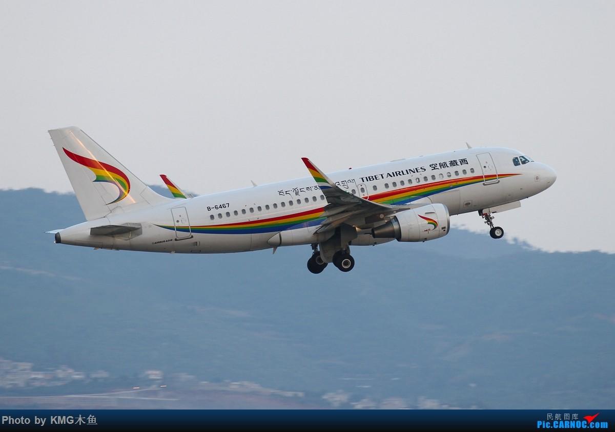 Re:[原创]【KMG】【昆明长水国际机场】拍机真心靠运气,尤其是拍它,不信你点开来看 AIRBUS A319-100 B-6467 中国昆明长水国际机场
