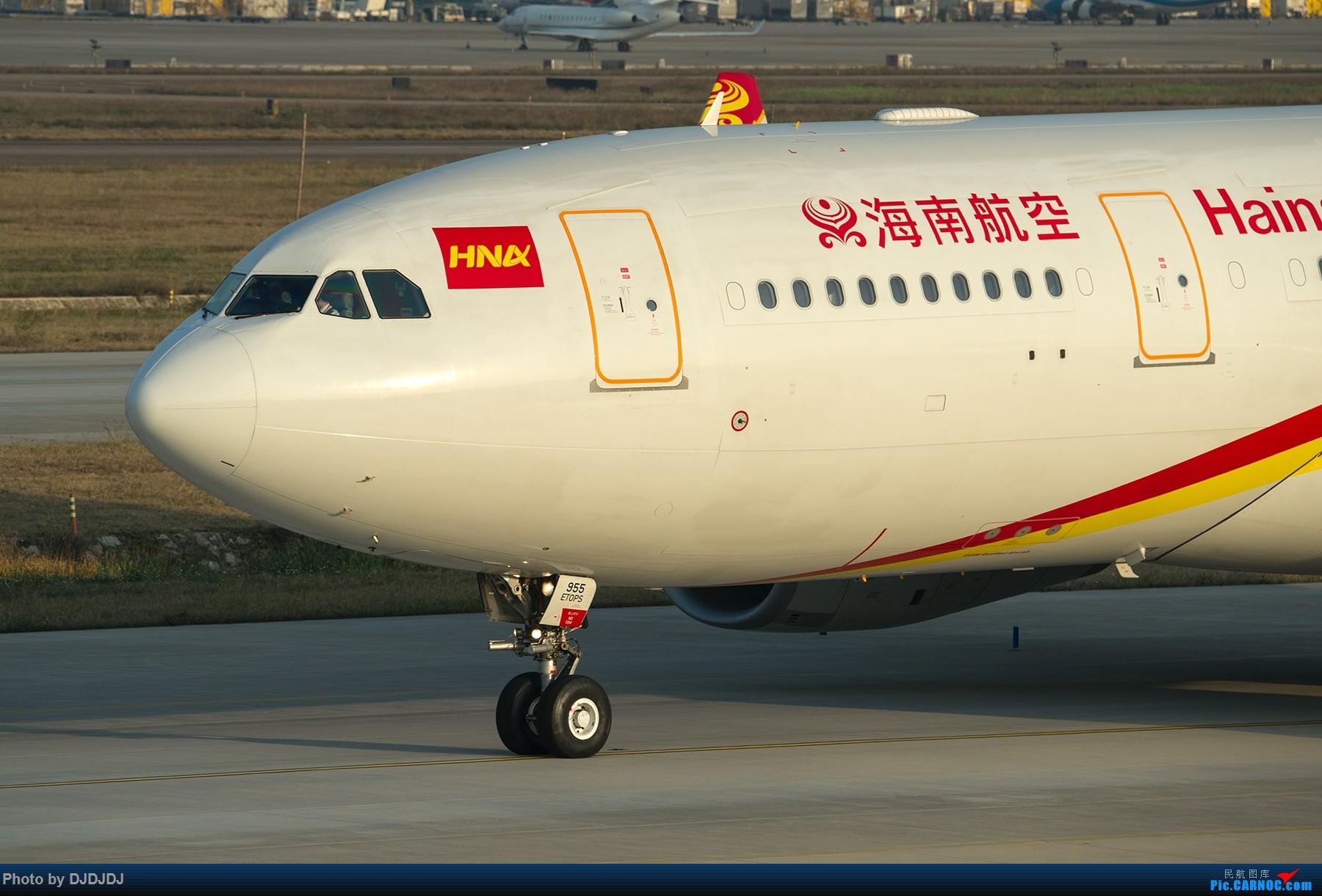 [原创]【BLDDQ】夕阳大头 AIRBUS A330-200 B-5955 中国深圳宝安国际机场
