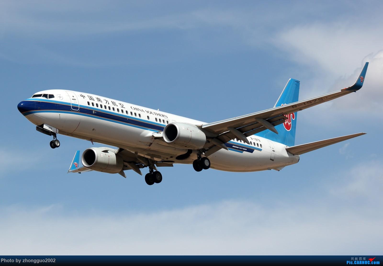 Re:[原创]赶上鄂尔多斯通航Y-5本场练习,顺便拍点其他飞机 BOEING 737-800 B-1979 中国鄂尔多斯伊金霍洛机场