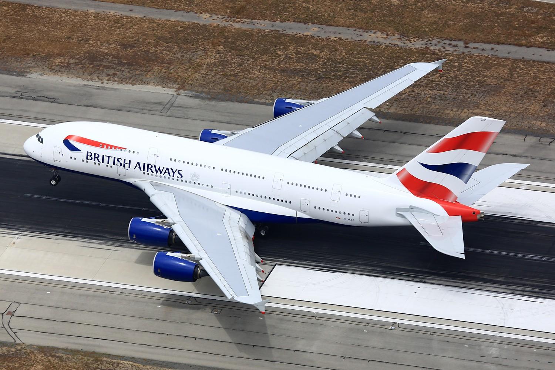 [原创]【LAX】**********A380合集,列强巨无霸的聚会[1500*1000]********** AIRBUS A380-800 G-XLEC 美国洛杉矶机场