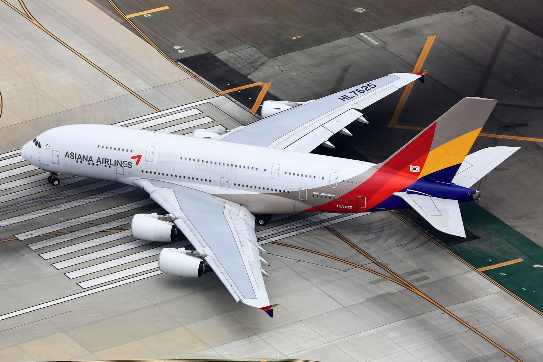Re:[原创]【LAX】**********A380合集,列强巨无霸的聚会[1500*1000]********** AIRBUS A380-800 HL7625 美国洛杉矶机场