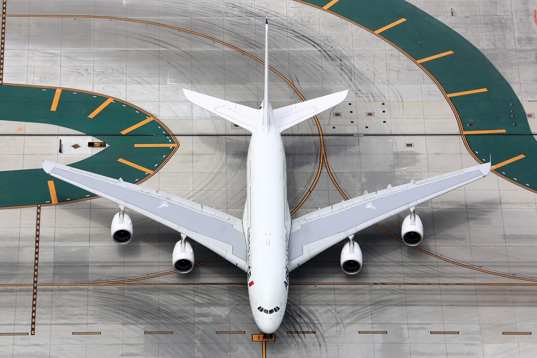 Re:[原创]【LAX】**********A380合集,列强巨无霸的聚会[1500*1000]********** AIRBUS A380-800 F-HPJF 美国洛杉矶机场