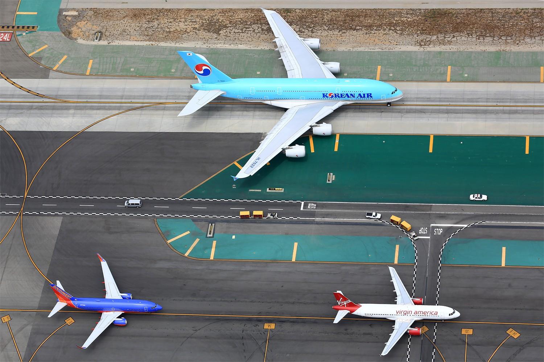 Re:[原创]【LAX】**********A380合集,列强巨无霸的聚会[1500*1000]********** AIRBUS A380-800 HL7622 美国洛杉矶机场
