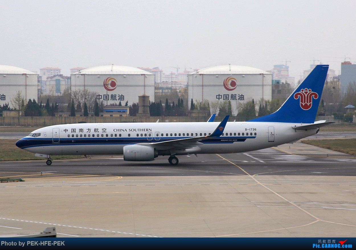 Re:[原创]【AutumnKwok】严重拖延症。。。四月青岛行拍机成果外加来回程的一些图。解决了不少以前没拍过的货~ BOEING 737-800 B-1736 TAO