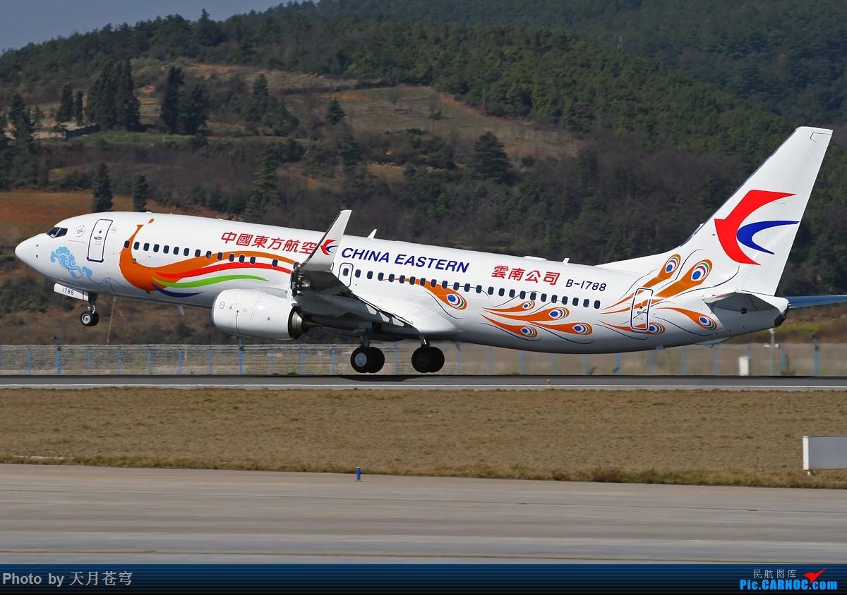 Re:[原创]【昆明飞友会】惭愧啊,只能发点老图了,长水好久没去了 BOEING 737-800 B-1788 中国昆明长水国际机场