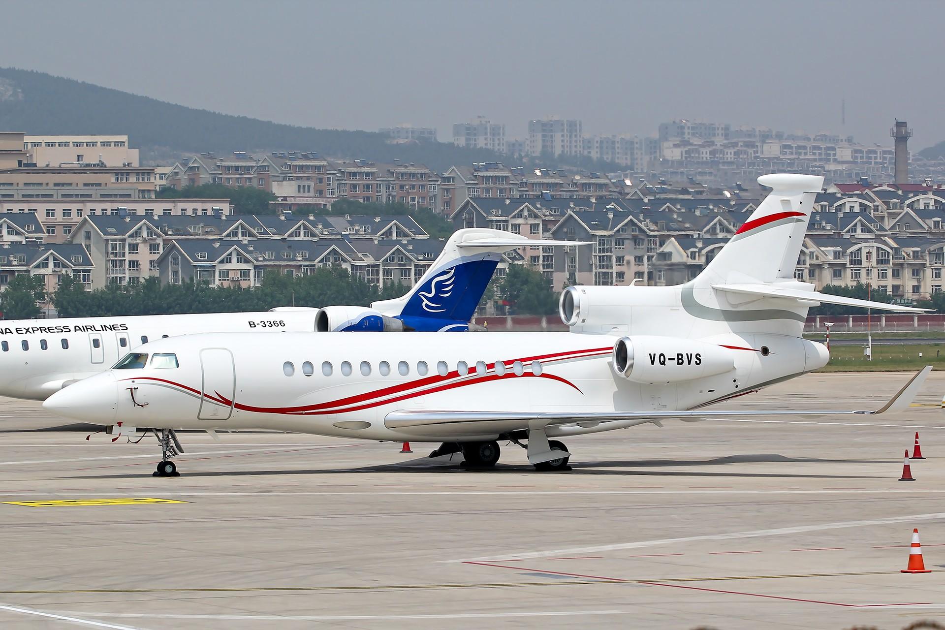 Re:[原创]Dassault Falcon 7X DASSAULT FALCON 7X VQ-BVS 中国大连周水子国际机场