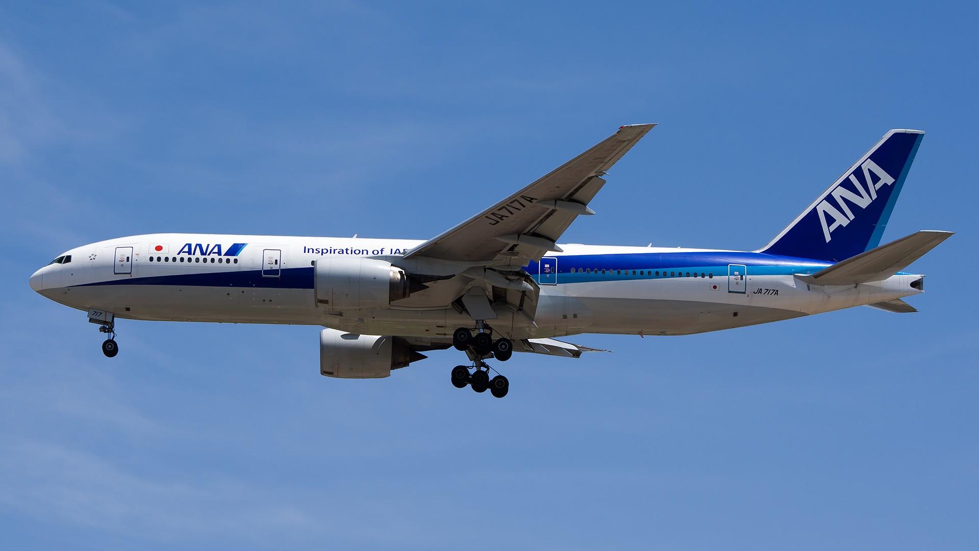 [原创]PEK01午后两小时抓拍,其实是为AA的One World来的 BOEING 777-200 JA717A 中国北京首都国际机场