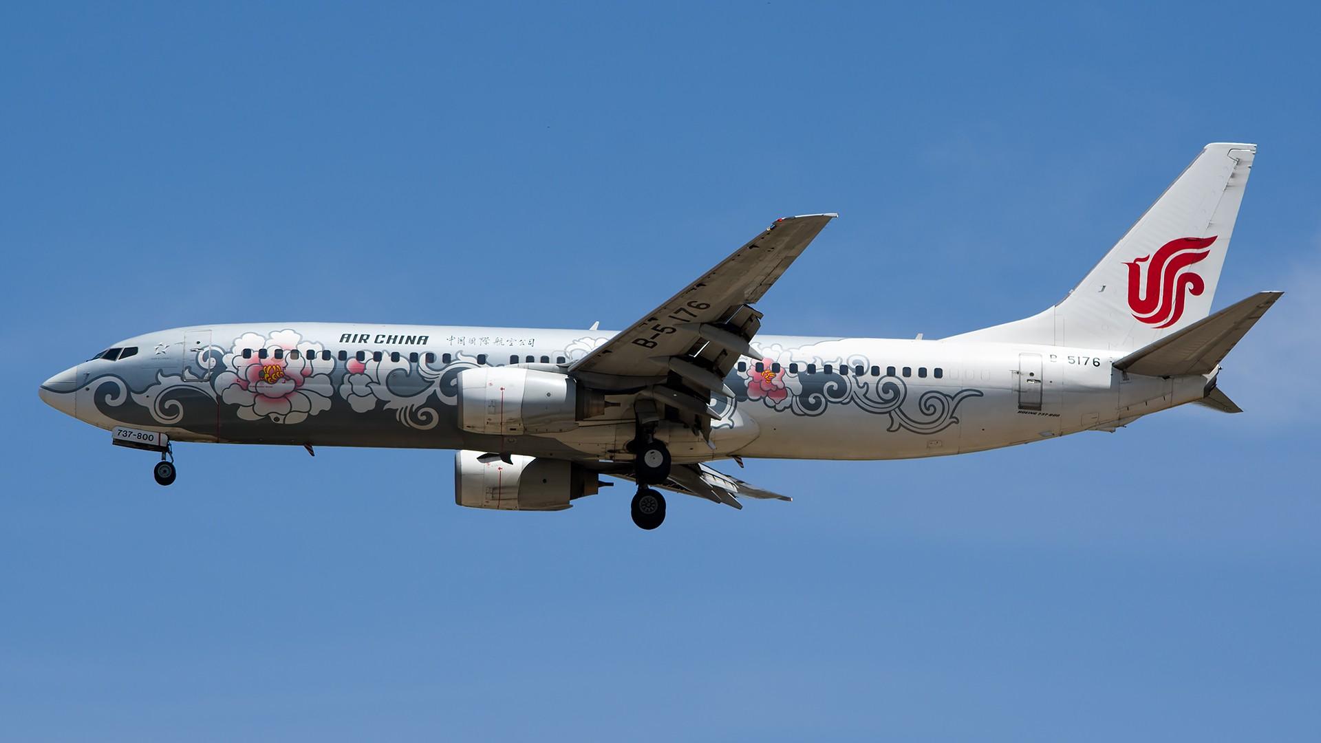 Re:[原创]PEK01午后两小时抓拍,其实是为AA的One World来的 BOEING 737-800 B-5176 中国北京首都国际机场
