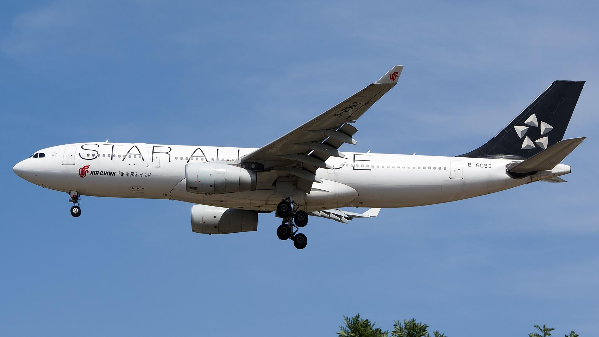 Re:[原创]PEK01午后两小时抓拍,其实是为AA的One World来的 AIRBUS A330-200 B-6093 中国北京首都国际机场