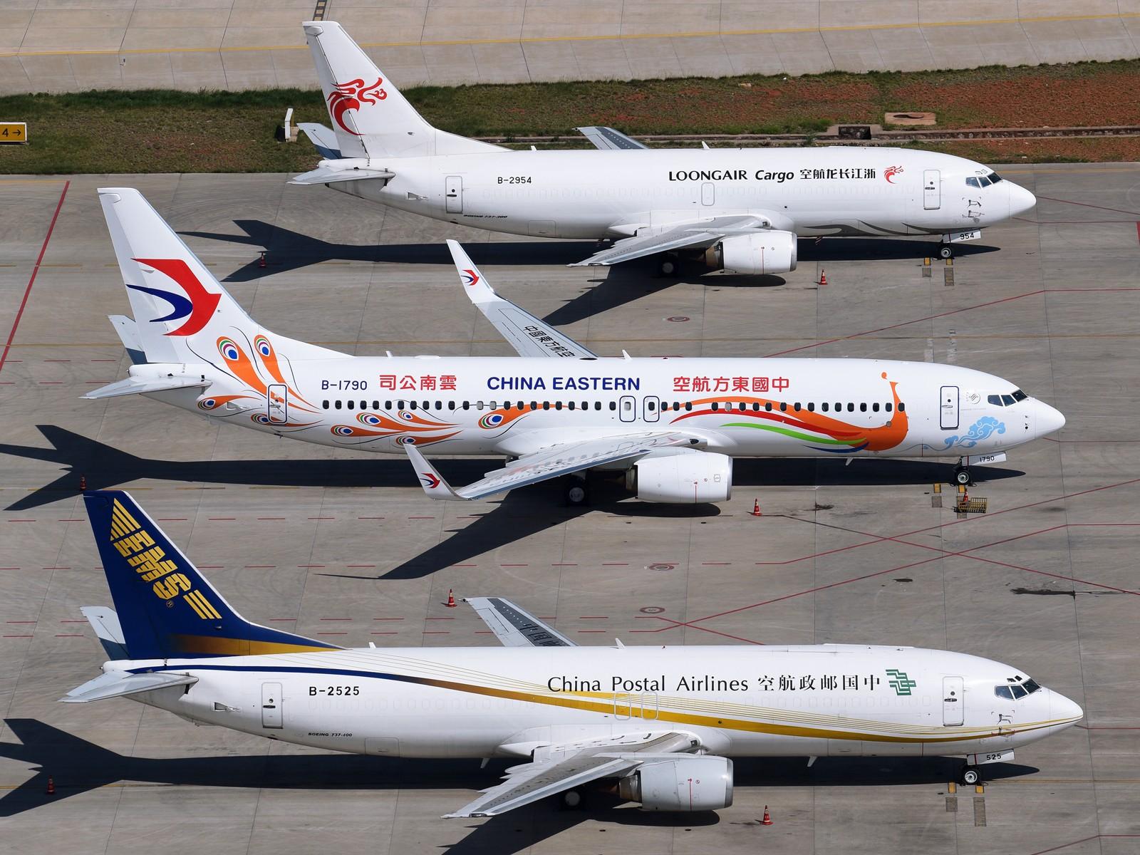 [原创]大家排排坐,我们分果果 BOEING 737-400 B-2525 中国昆明长水国际机场