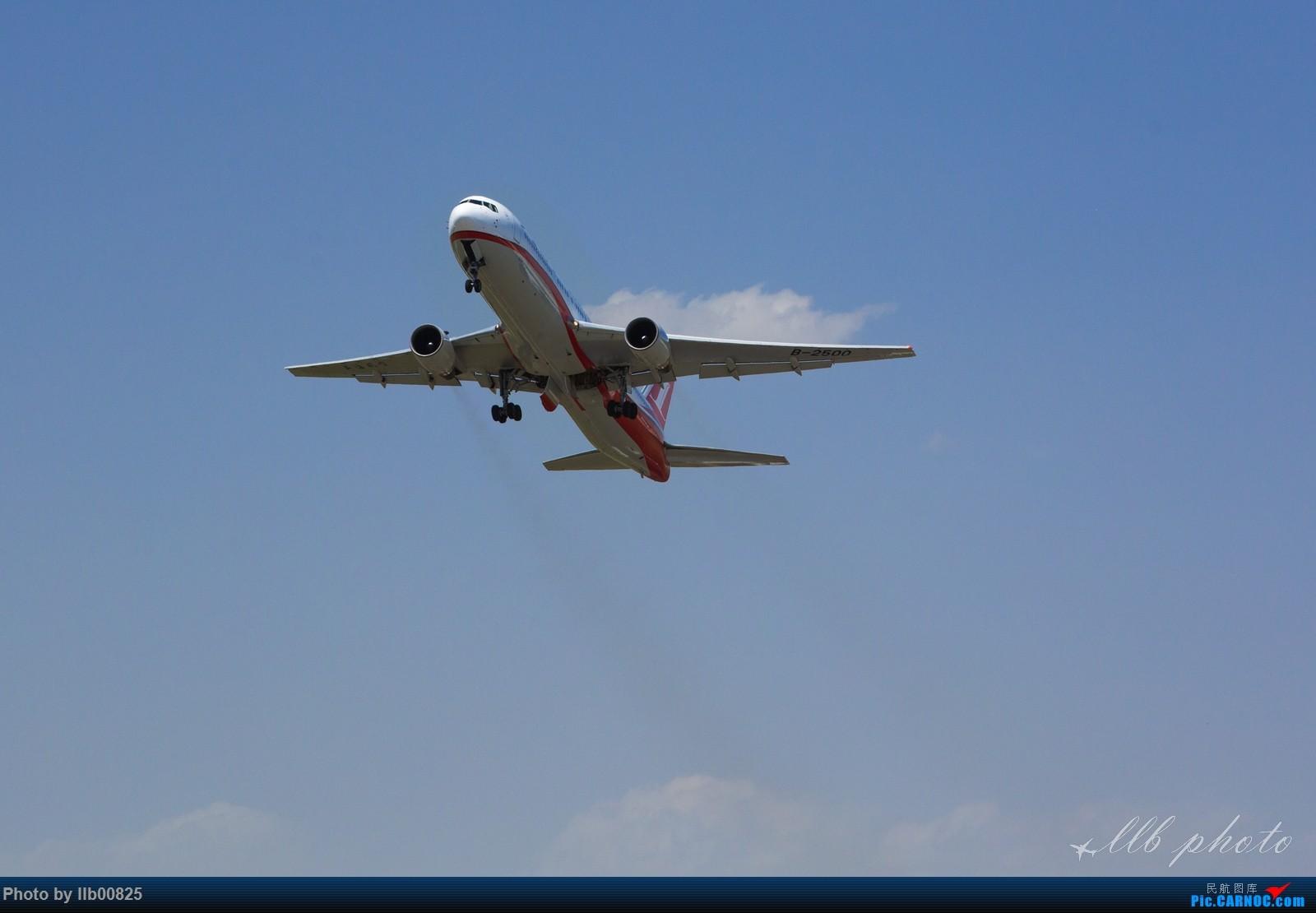 [原创]XIY雨过天晴 BOEING 767-300 B-2500 中国西安咸阳国际机场