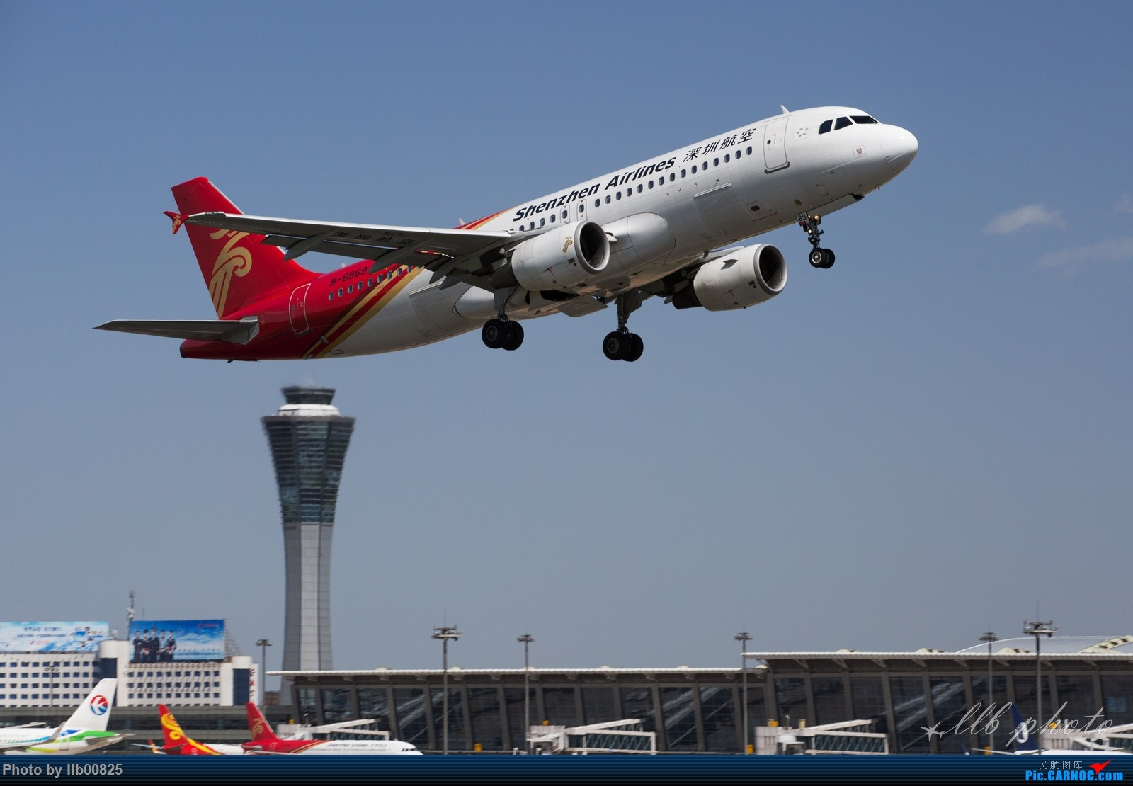 Re:[原创]XIY雨过天晴 AIRBUS A320-200 B-6569 中国西安咸阳国际机场