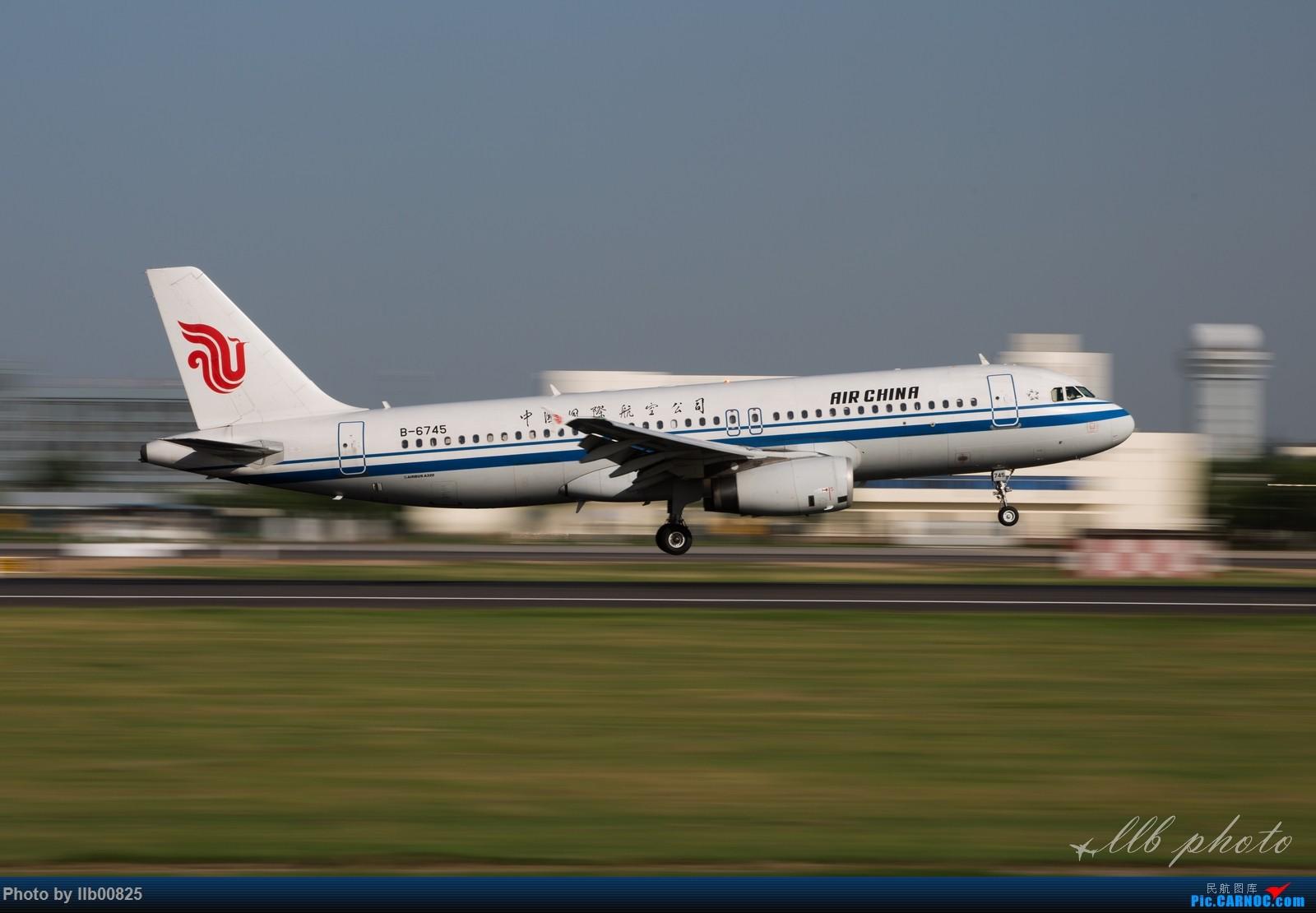 Re:[原创]XIY雨过天晴 AIRBUS A320-200 B-6745 中国西安咸阳国际机场