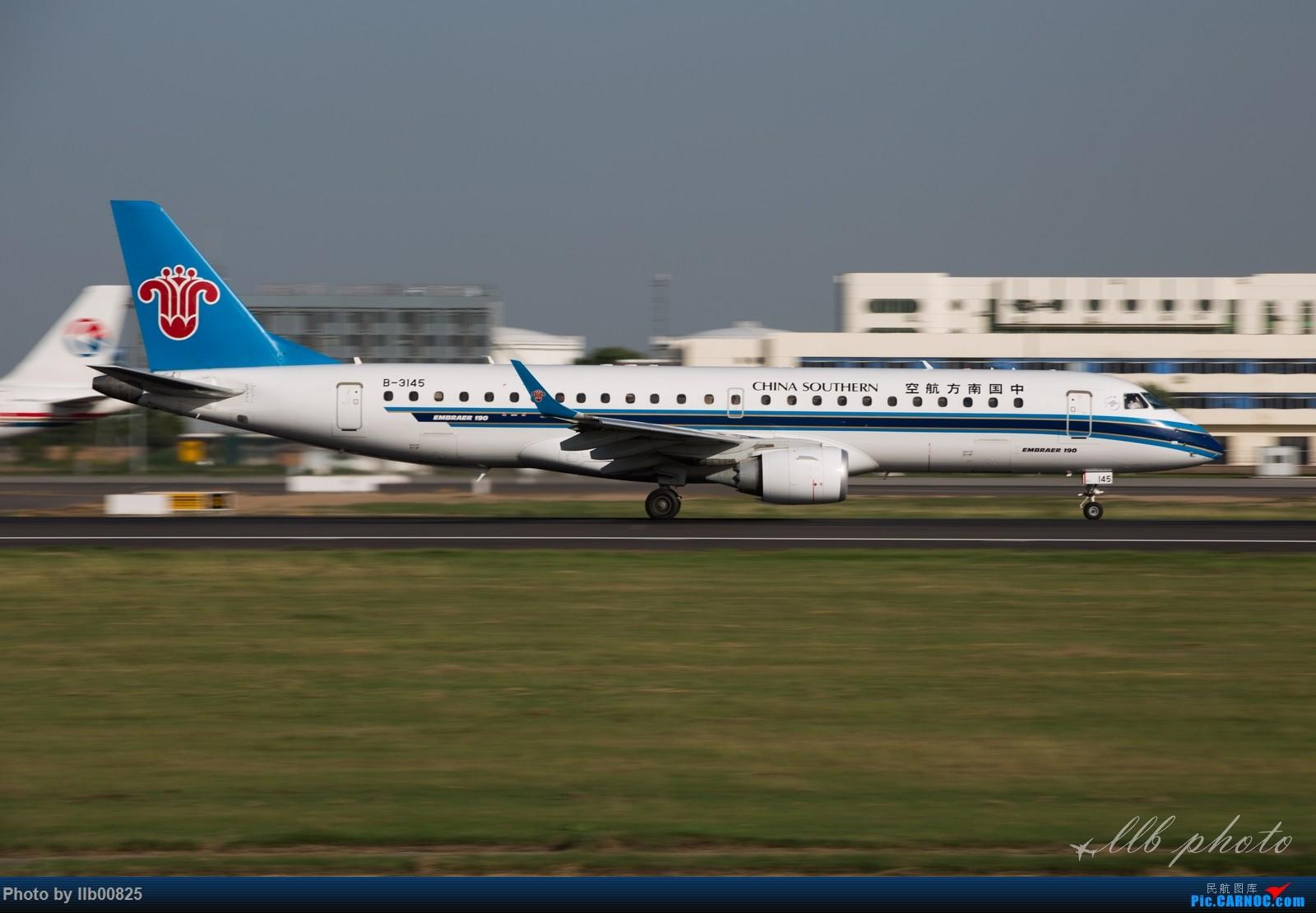 Re:[原创]XIY雨过天晴 EMBRAER E-190 B-3145 中国西安咸阳国际机场