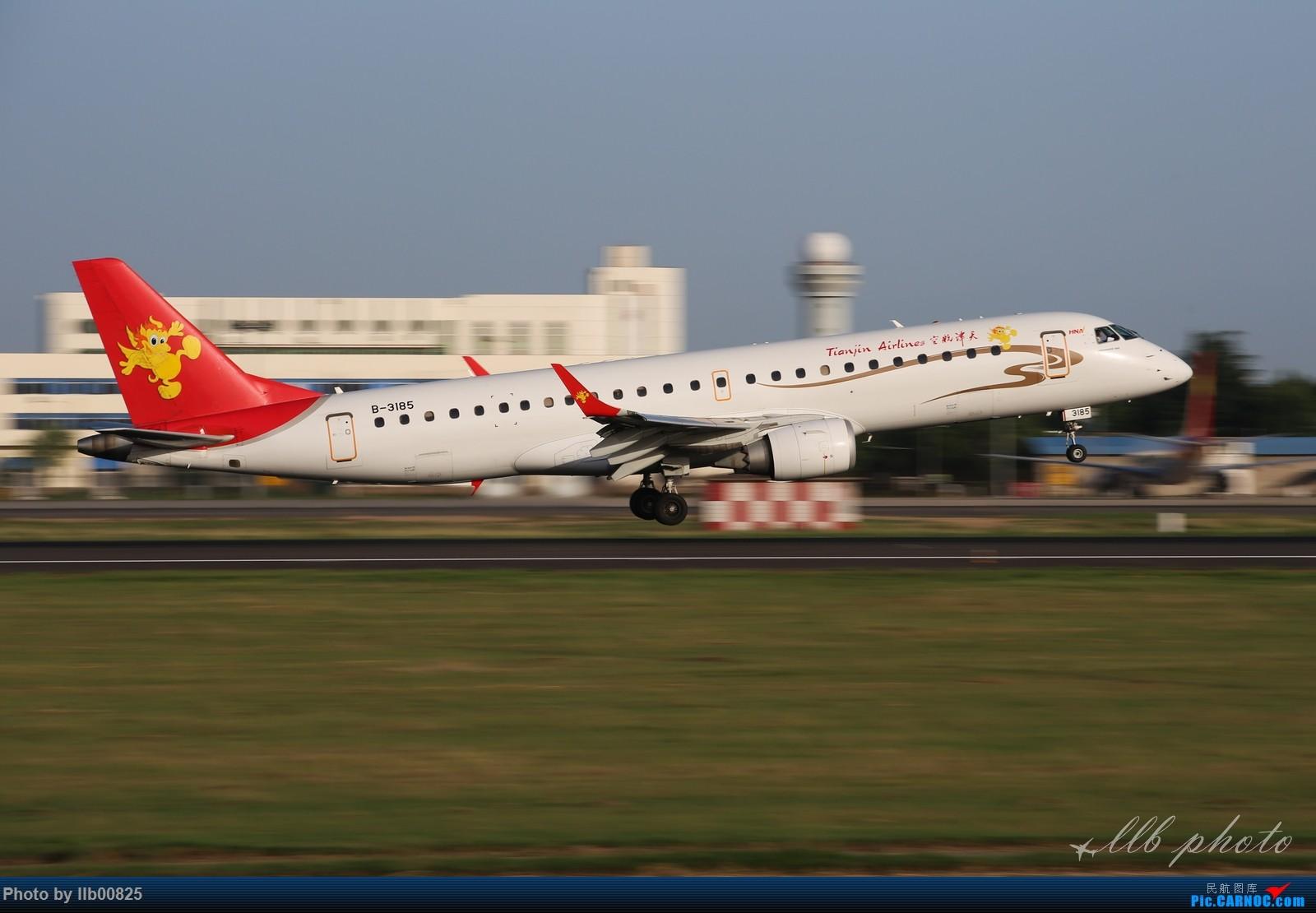 Re:[原创]XIY雨过天晴 EMBRAER E-190 B-3185 中国西安咸阳国际机场