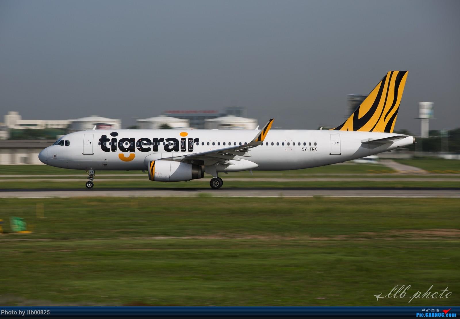 [原创]XIY查漏补缺 AIRBUS A320 9V-TRK 中国西安咸阳国际机场