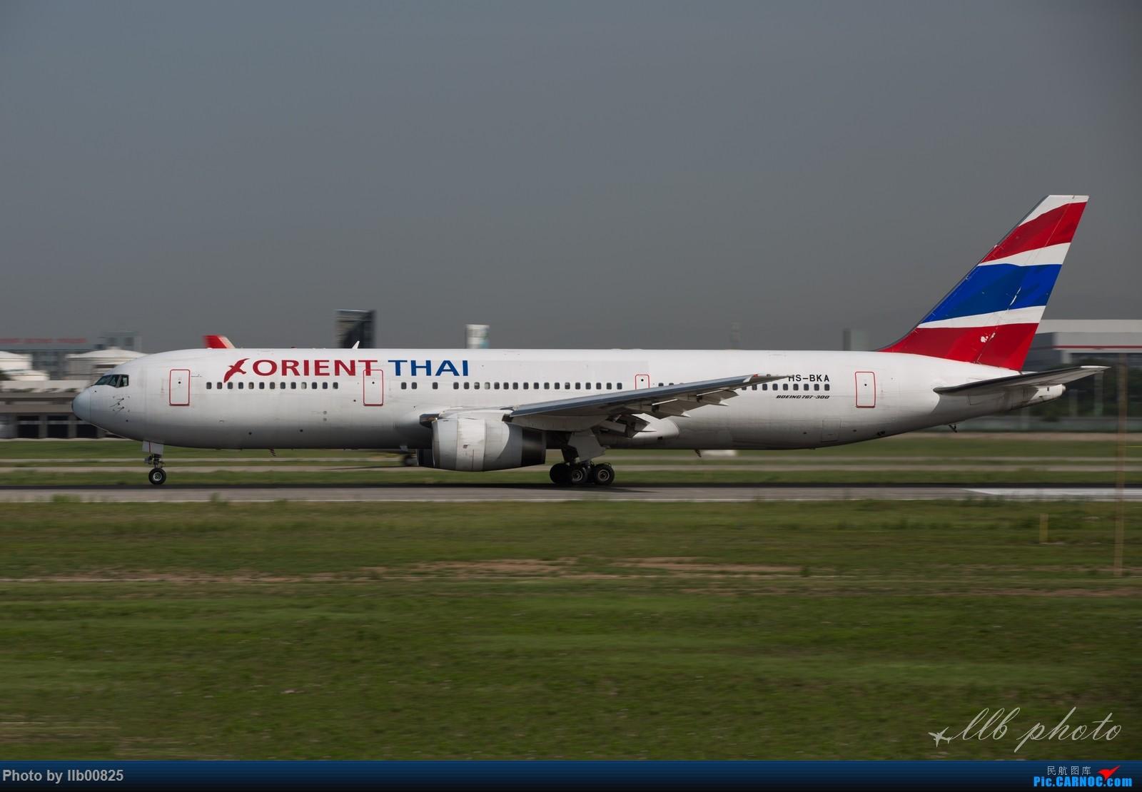 Re:[原创]XIY查漏补缺 BOEING 767-300 HS-BKA 中国西安咸阳国际机场