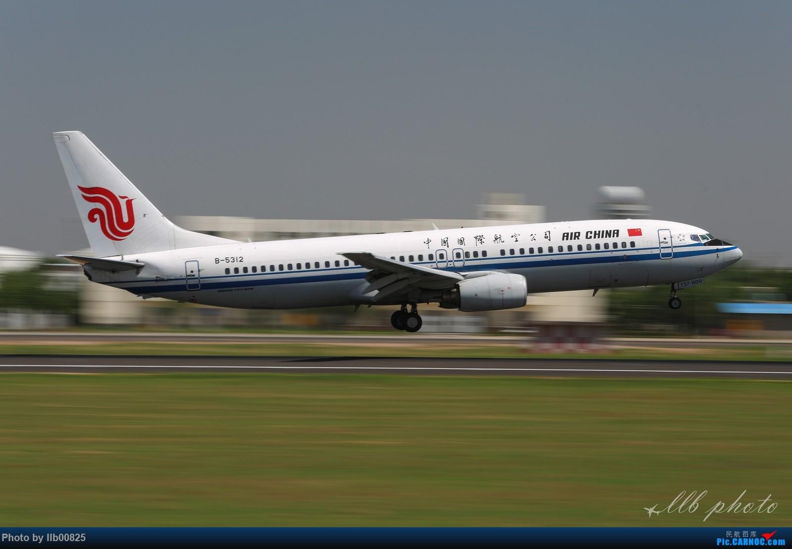 Re:[原创]XIY查漏补缺 BOEING 737-800 B-5312 中国西安咸阳国际机场