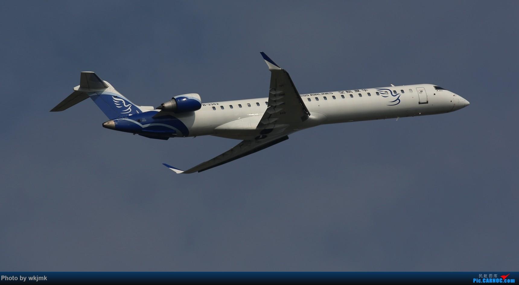 Re:[原创]CKG拍20R起飞 BOMBARDIER CRJ900NG B-3362 中国重庆江北国际机场