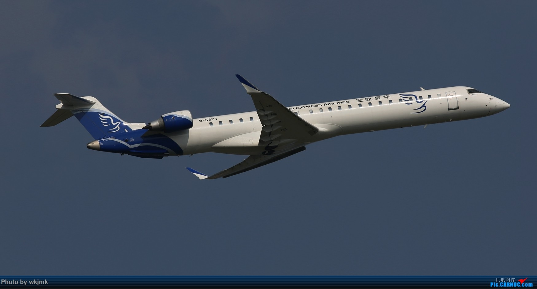 Re:[原创]CKG拍20R起飞 BOMBARDIER CRJ900NG B-3371 中国重庆江北国际机场