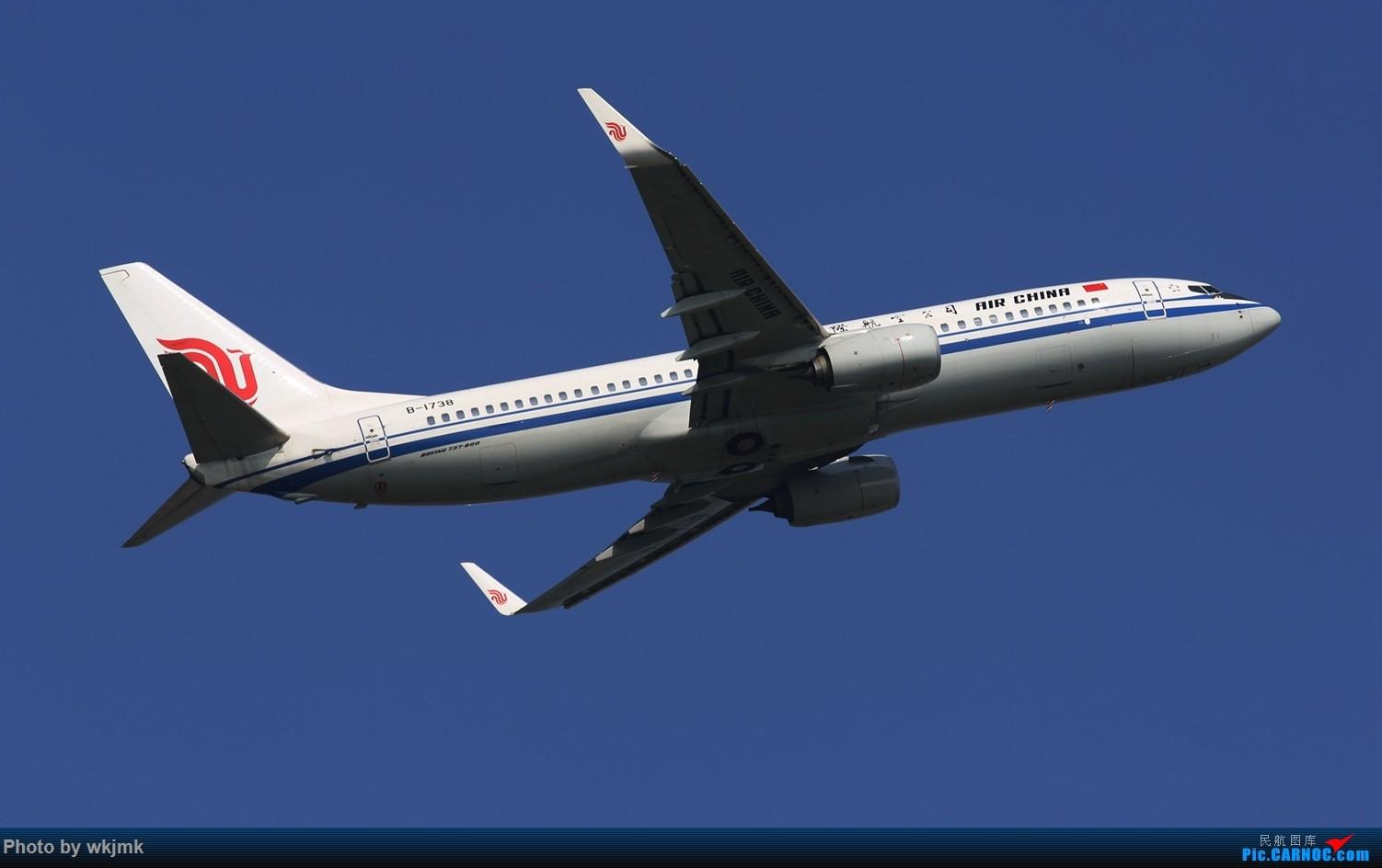 Re:[原创]CKG拍20R起飞 BOEING 737-800 B-1738 中国重庆江北国际机场