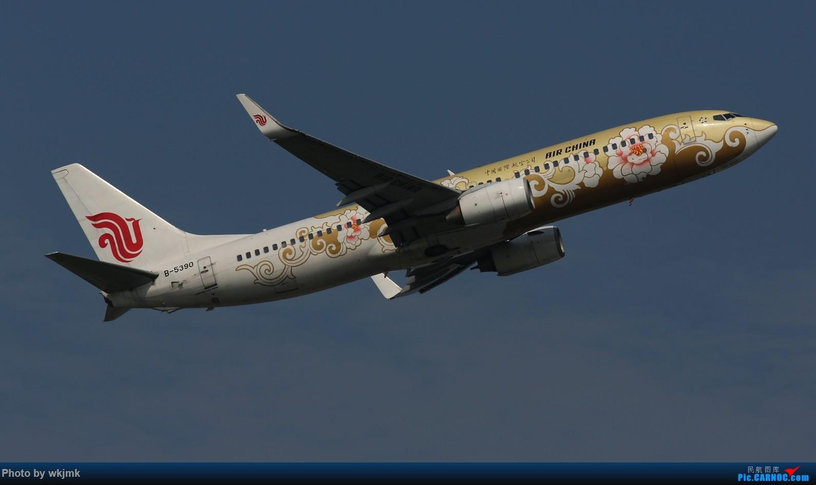 Re:[原创]CKG拍20R起飞 BOEING 737-800 B-5390 中国重庆江北国际机场
