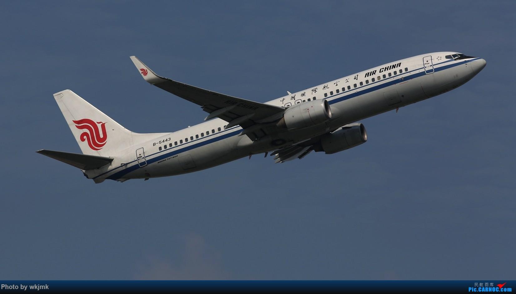 Re:[原创]CKG拍20R起飞 BOEING 737-800 B-5443 中国重庆江北国际机场