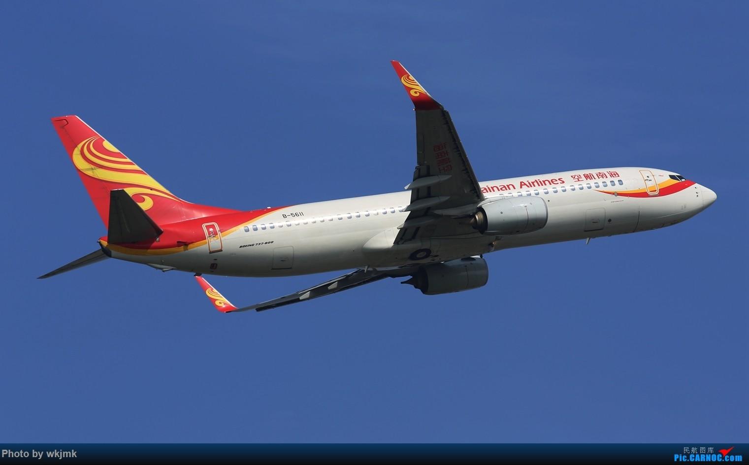 Re:[原创]CKG拍20R起飞 BOEING 737-800 B-5611 中国重庆江北国际机场