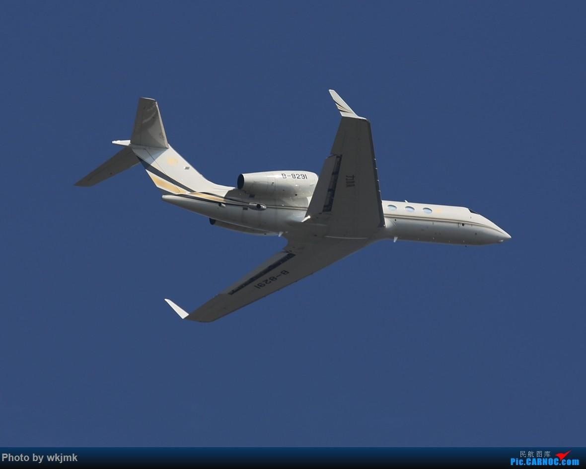 Re:[原创]CKG拍20R起飞 GULFSTREAM G450 B-8291 中国重庆江北国际机场