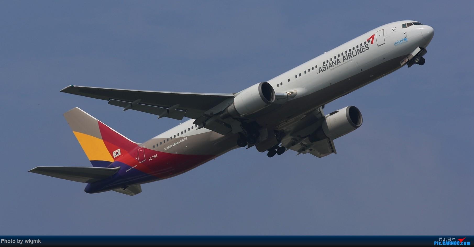 Re:[原创]CKG拍20R起飞 BOEING 767 HL-7515 中国重庆江北国际机场