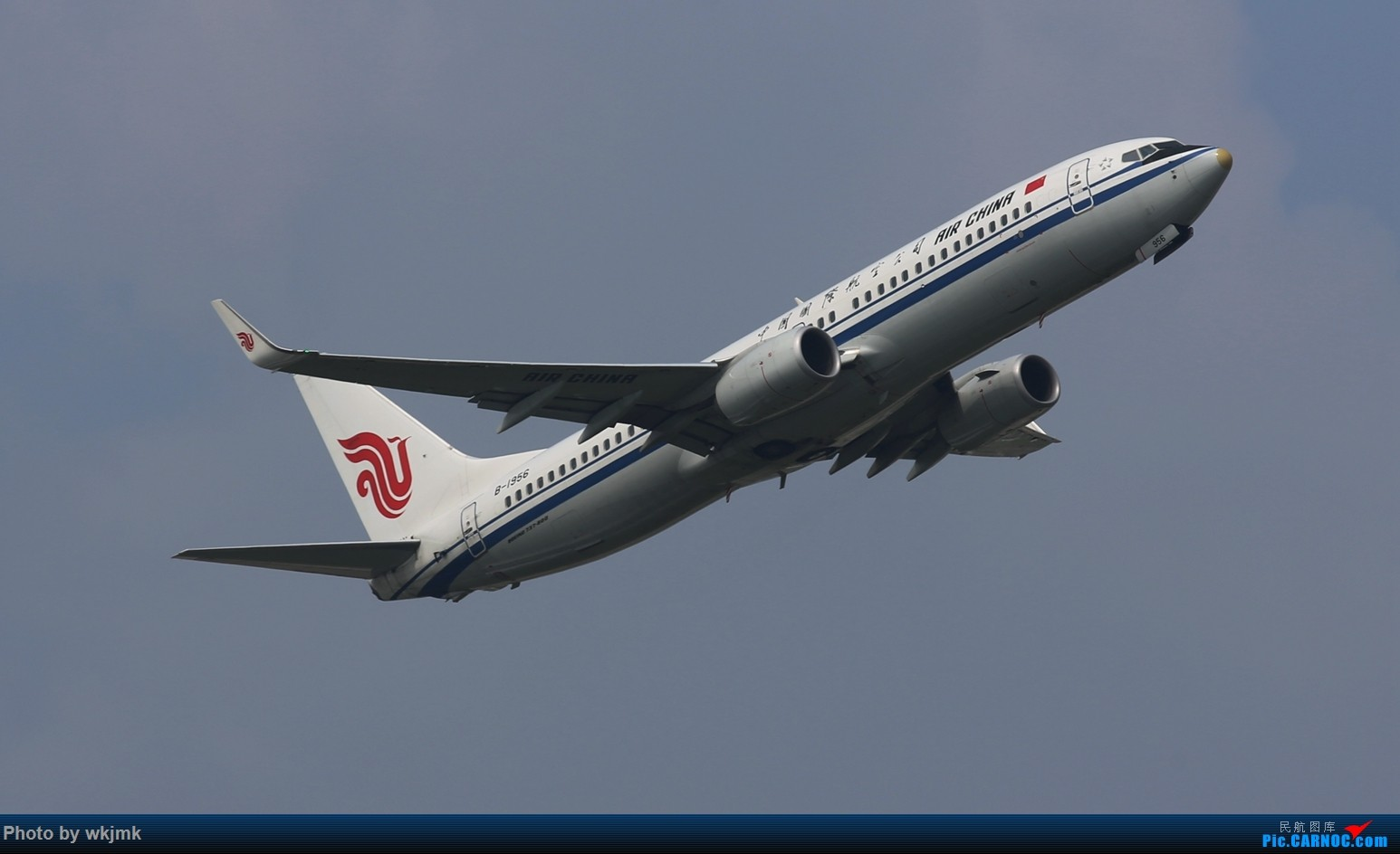 Re:[原创]CKG拍20R起飞 BOEING 737-800 B-1956 中国重庆江北国际机场