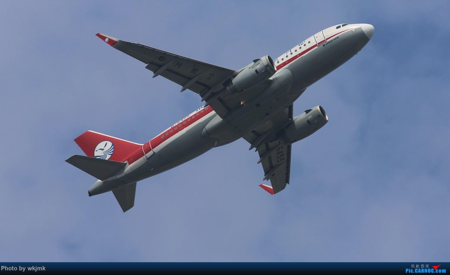 Re:[原创]CKG拍20R起飞 AIRBUS A319-100 B-6455 中国重庆江北国际机场