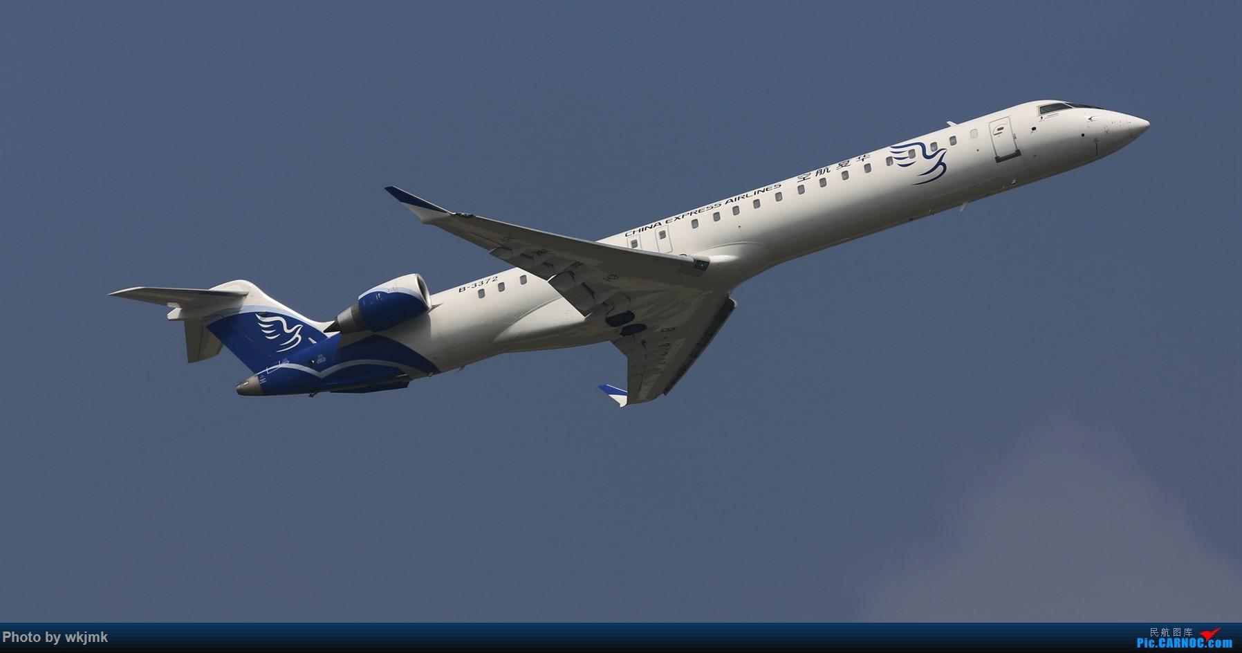 Re:[原创]CKG拍20R起飞 BOMBARDIER CRJ900NG B-3372 中国重庆江北国际机场