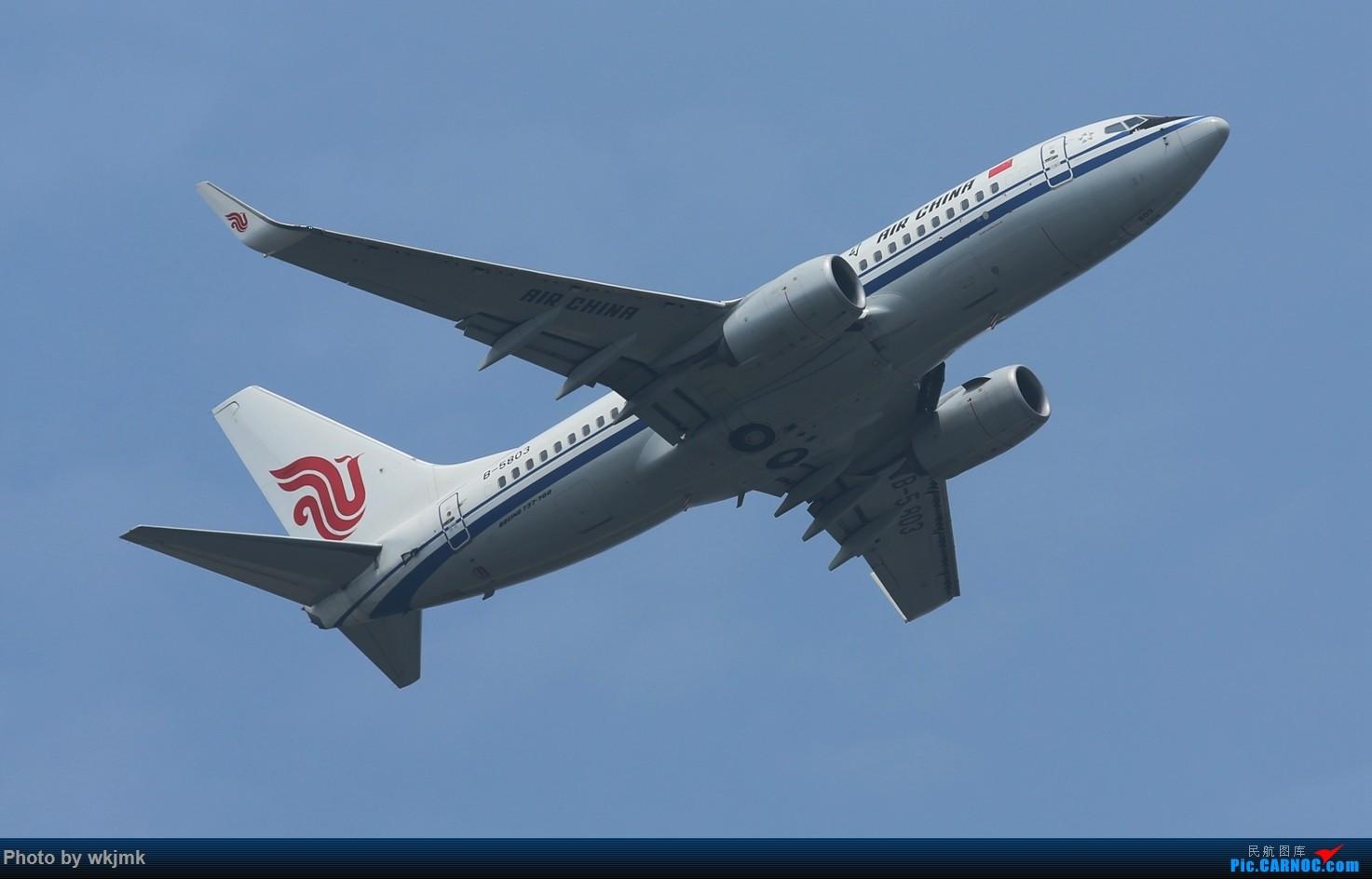 Re:[原创]CKG拍20R起飞 BOEING 737-700 B-5803 中国重庆江北国际机场