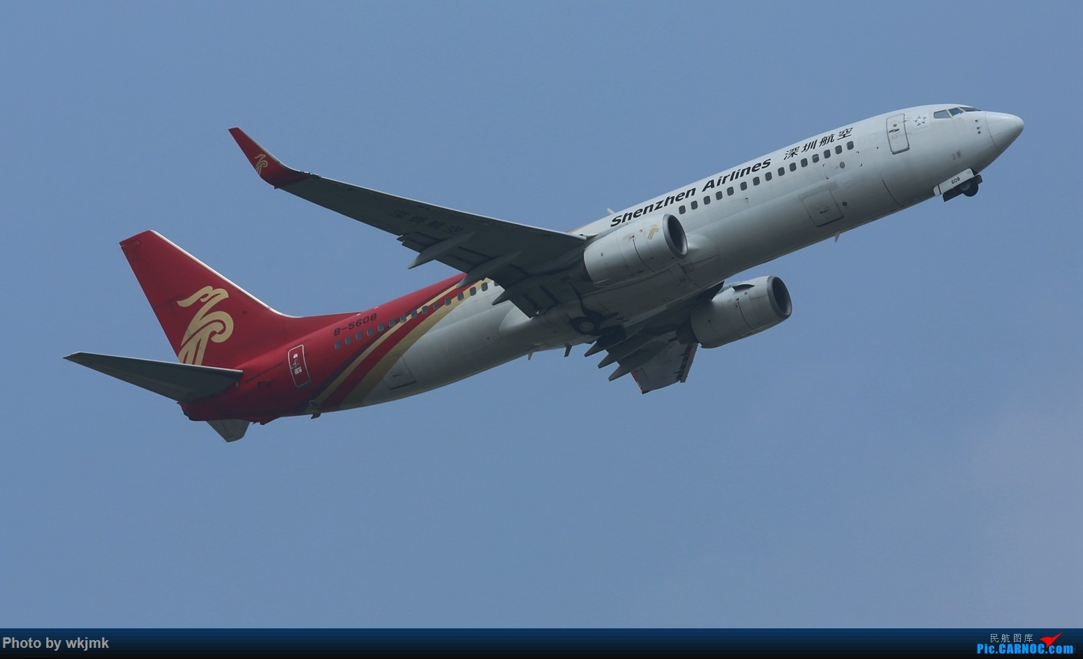 Re:[原创]CKG拍20R起飞 BOEING 737-800 B-5608 中国重庆江北国际机场