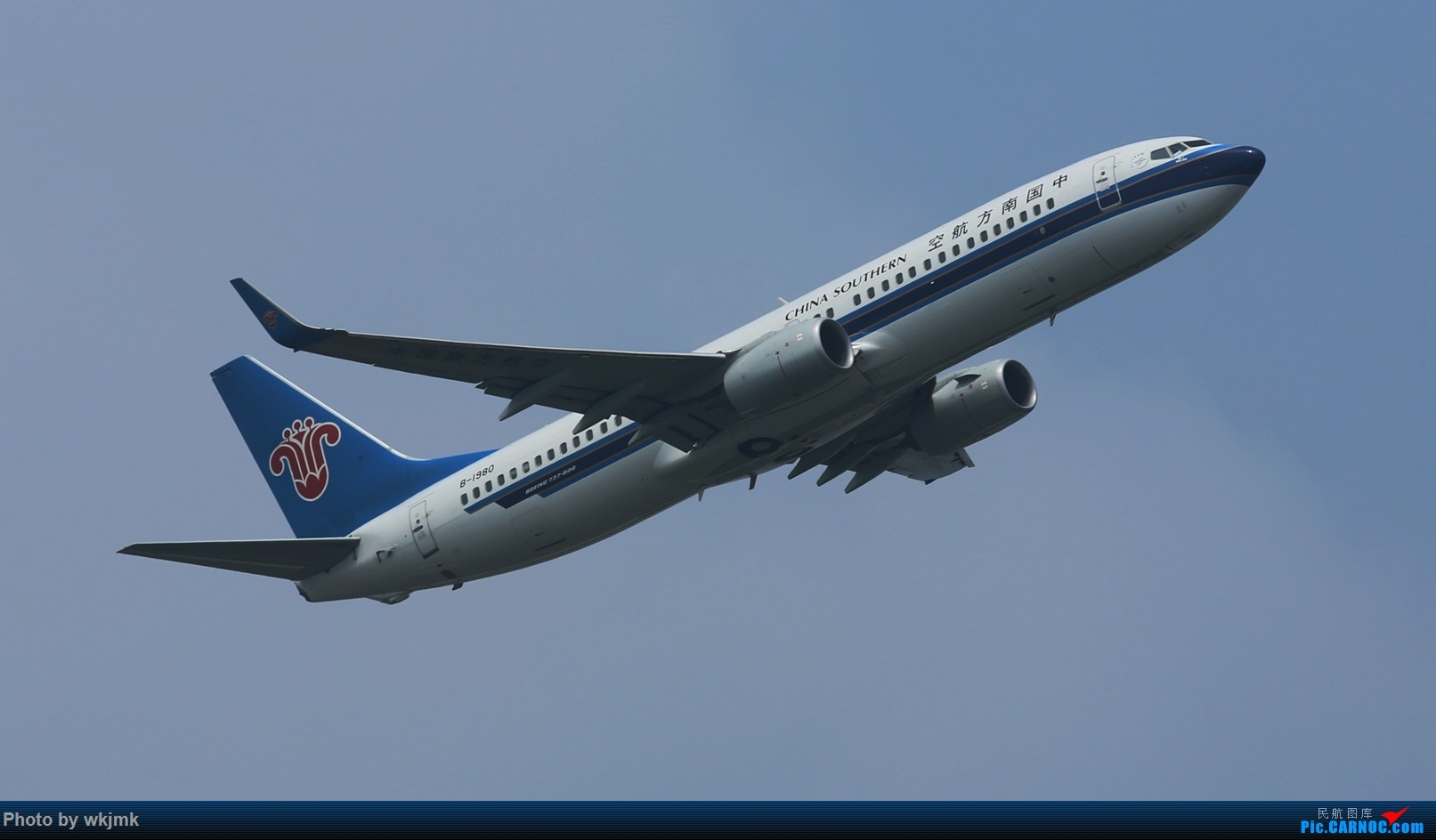 Re:[原创]CKG拍20R起飞 BOEING 737-800 B-1980 中国重庆江北国际机场