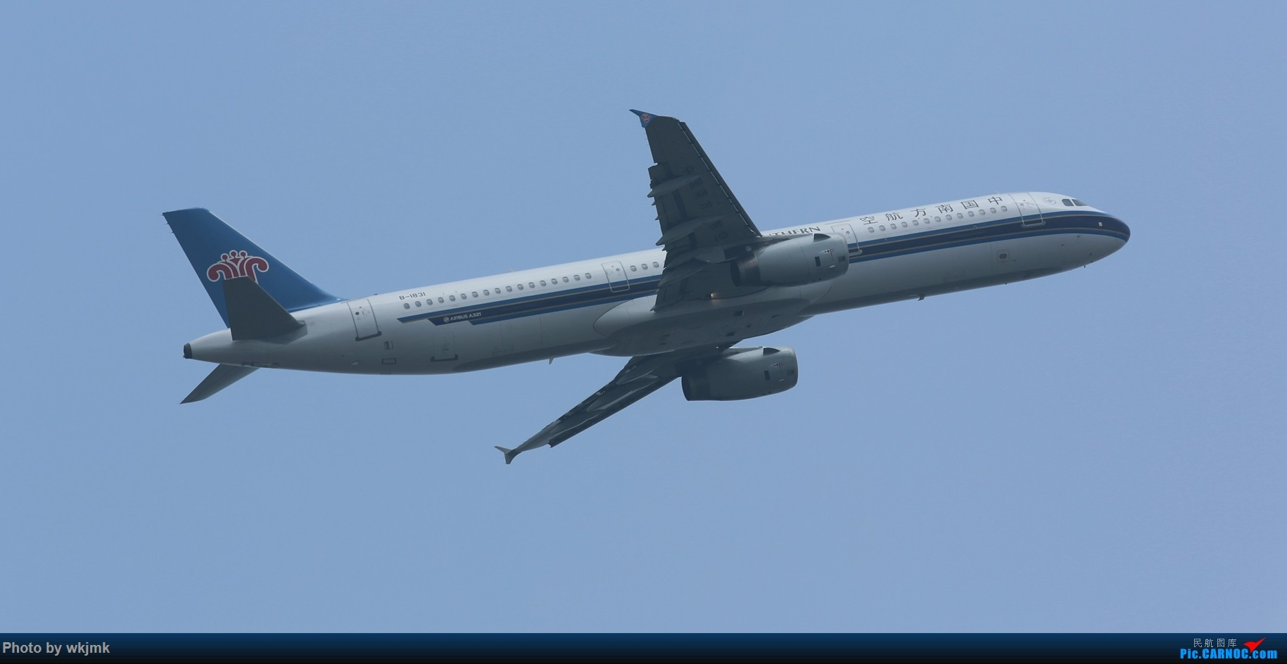 Re:[原创]CKG拍20R起飞 AIRBUS A321-200 B-1831 中国重庆江北国际机场