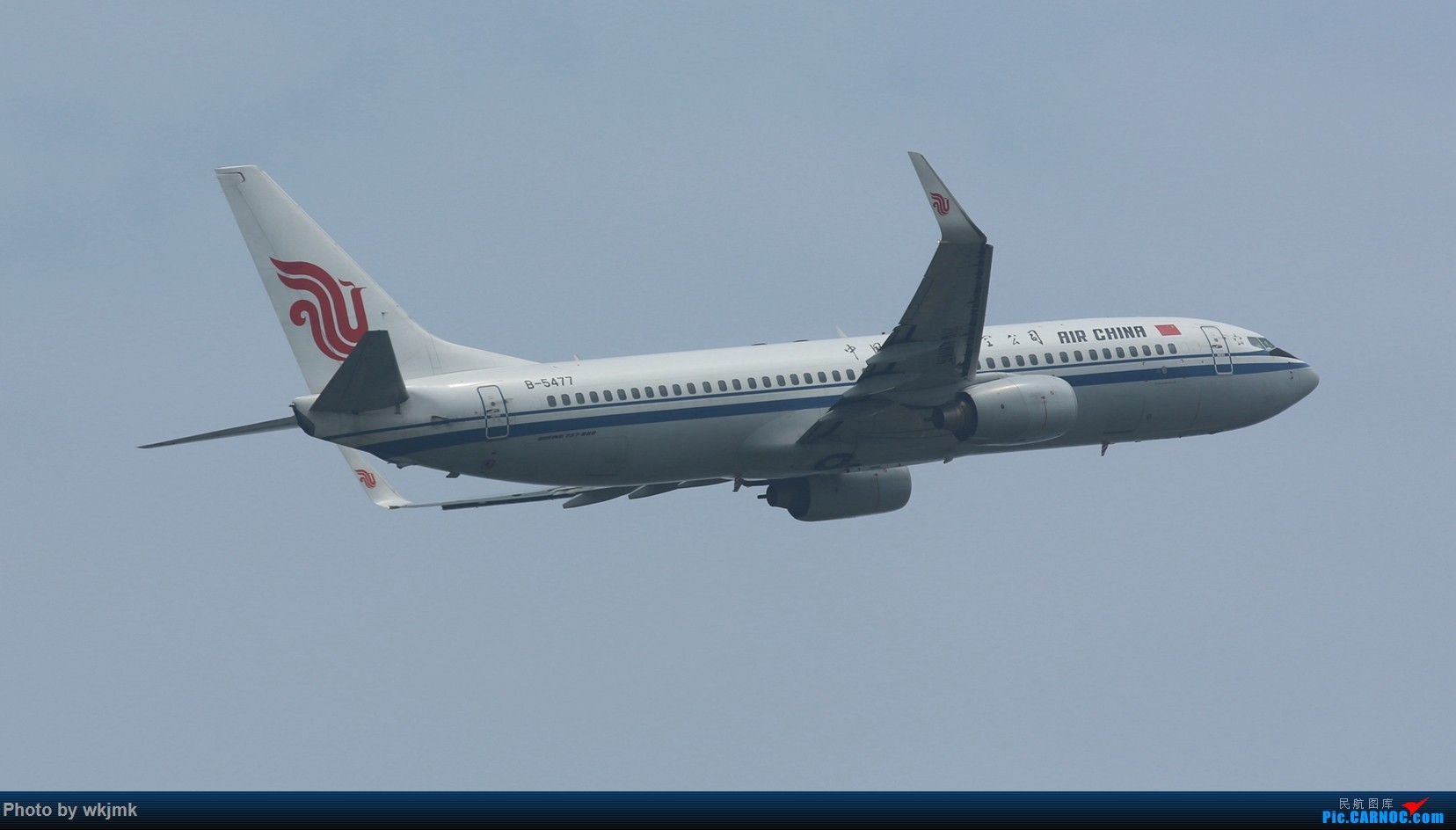 Re:[原创]CKG拍20R起飞 BOEING 737-800 B-5477 中国重庆江北国际机场