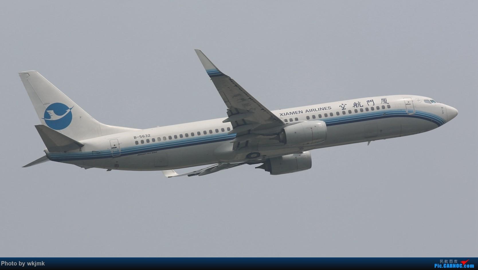Re:[原创]CKG拍20R起飞 BOEING 737-800 B-5632 中国重庆江北国际机场