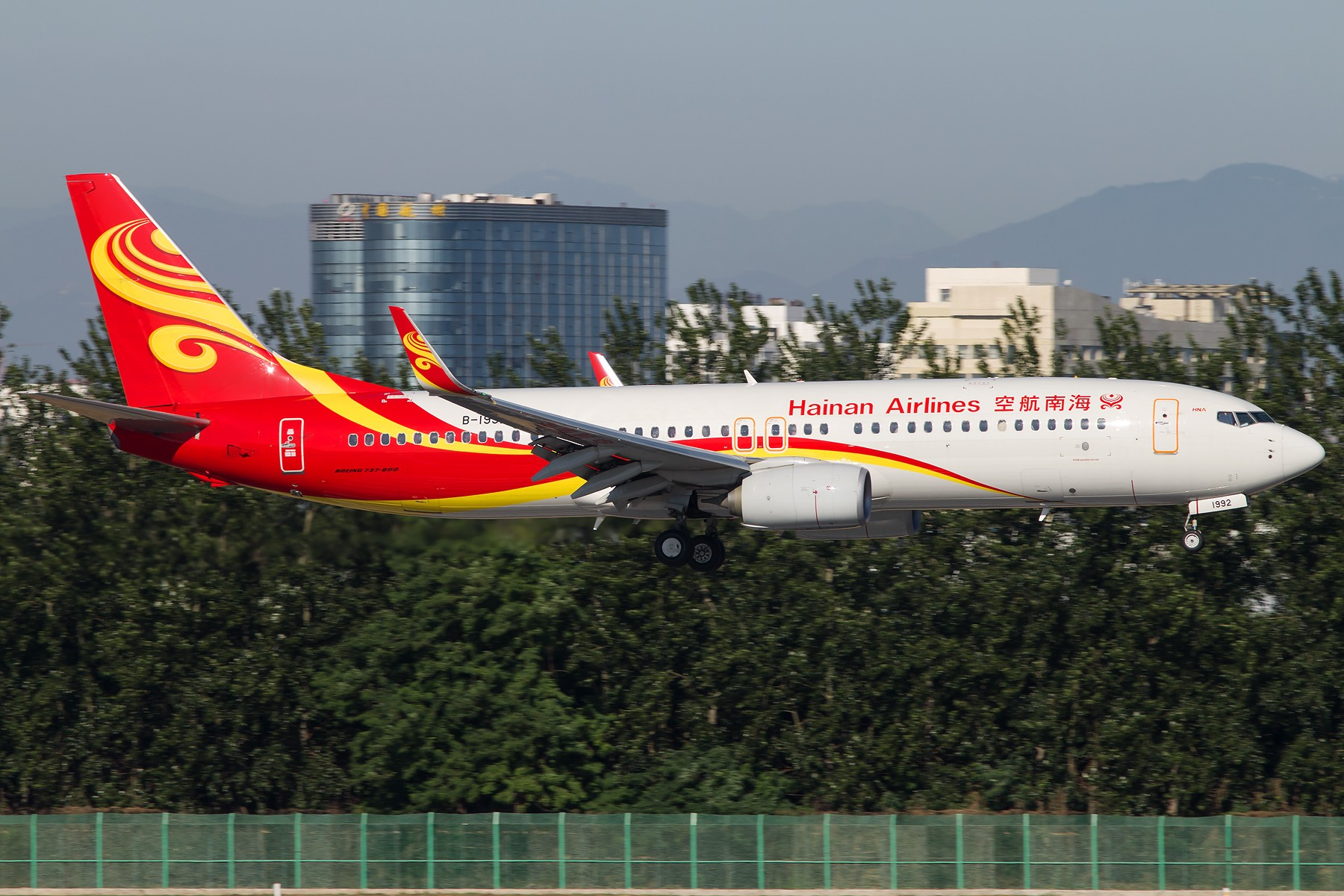 Re:[原创]周末晨练10张 1800*1200 BOEING 737-800 B-1992 中国北京首都国际机场