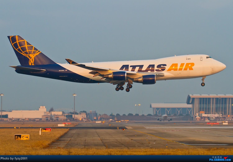 [原创]【无锡西站】PVG的大鹅~~~ BOEING 747-400 N418MC 中国上海浦东国际机场