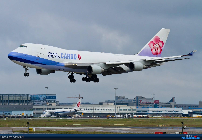 Re:[原创]【无锡西站】PVG的大鹅~~~ BOEING 747-400 B-18723 中国上海浦东国际机场