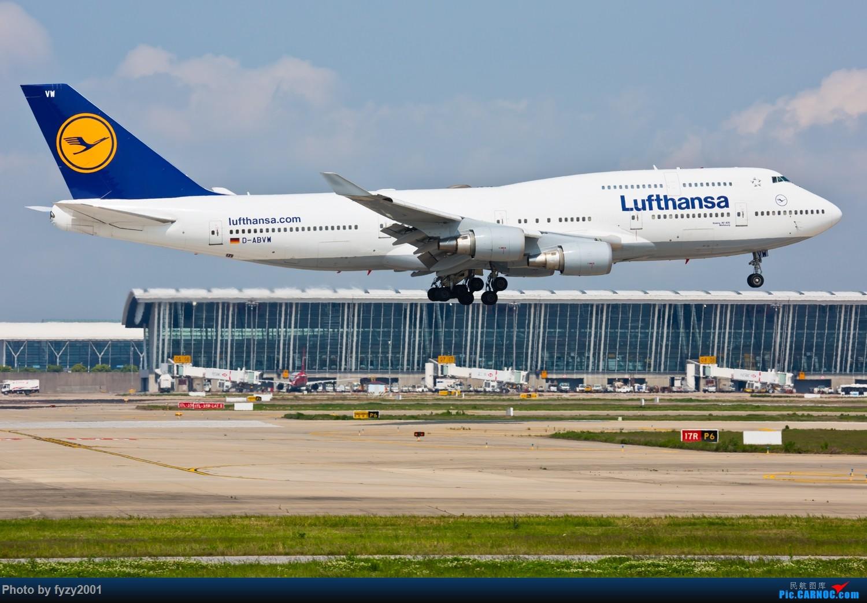 Re:[原创]【无锡西站】PVG的大鹅~~~ BOEING 747-400 D-ABVW 中国上海浦东国际机场