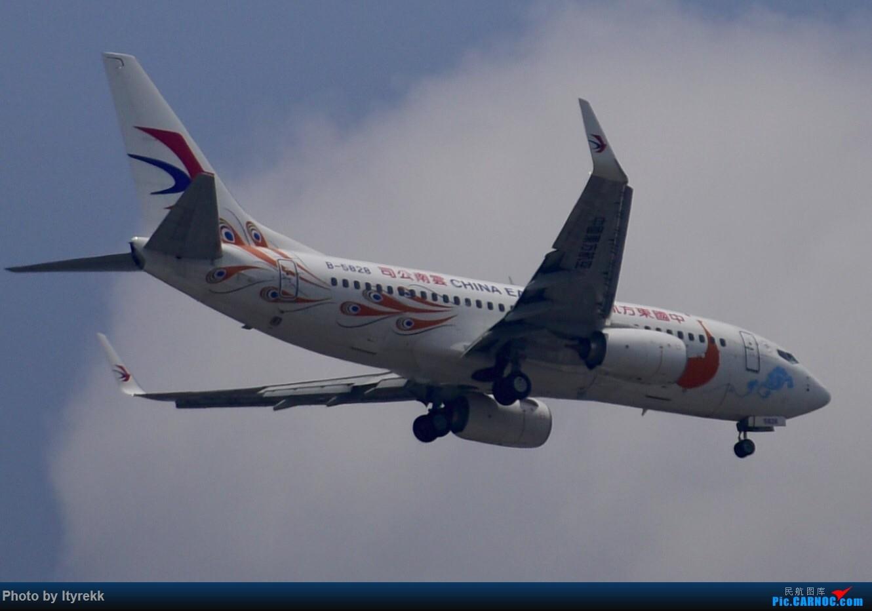 Re:[原创]6月的天气总是变化多端 BOEING 737-700 B-5828 中国芒市机场